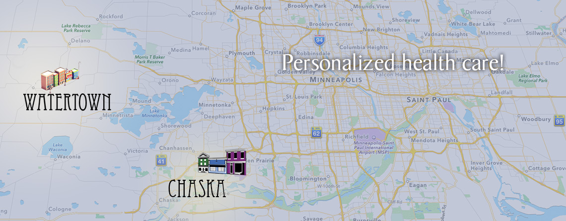 Catalyst Medical Clinic is located in Watertown and Chaska, Minnesota